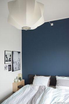 Blue tone bedroom   Kreavilla Blue Tones, Architecture Design, Bedroom, Furniture, Home Decor, Creative, Dekoration, Bedrooms, Interior Design