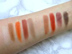 My collection of Zoeva eyeshadow palettes with swatches, including the new Matte palette
