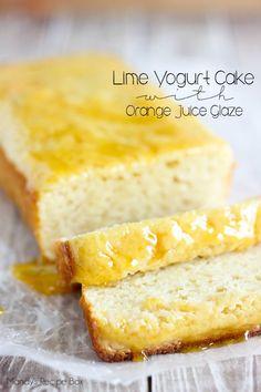 Lime Yogurt Cake Recipe