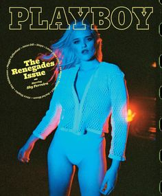 sky ferreira is the first 'playboy' star to creative direct her cover | read | i-D