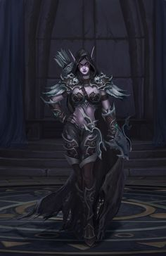 Uggghhh I want  be like her xD - Sylvanas Windrunner
