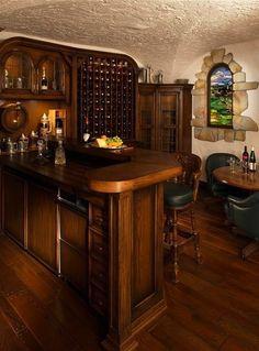 Wine room...mom cave