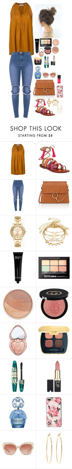 """Untitled #1777"" by azra-99 on Polyvore featuring A.L.C., Schutz, Chloé, Michael Kors, Bobbi Brown Cosmetics, Maybelline, Gucci, Too Faced Cosmetics, Bare Escentuals and Max Factor"