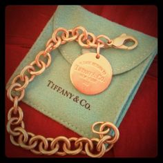 Authentic Tiffany & Co Bracelet Great condition but in need of a good cleaning and polish. This is an Authentic Tiffany & Co Bracelet. Tiffany & Co. Jewelry Bracelets