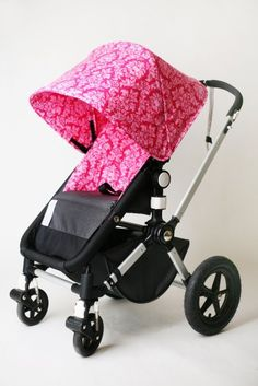 Custom stroller covers! So original! And makes my Bugaboo one of a kind!