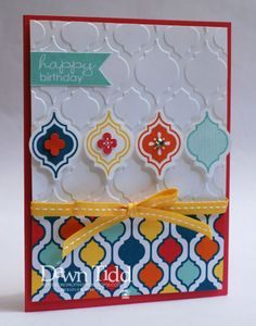 A Little Bling for Paper Players 150 by marmie43gs - Cards and Paper Crafts at Splitcoaststampers