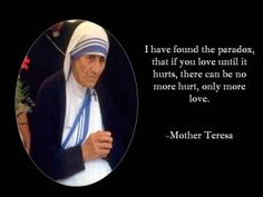 Famous Mother Teresa Inspiational Quotes