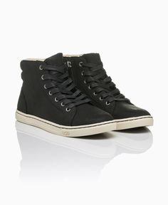 UGG - Gradie High Top Trainers - Black - Shoes & Trainers - Womens