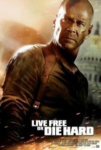 Live Free or Die Hard Directed by Len Wiseman. With Bruce Willis, Justin Long, Timothy Olyphant, Maggie Q. John McClane and a young hacker join forces to take down master cyber-terrorist Thomas Gabriel in Washington D. Film D'action, Bon Film, Film Serie, Timothy Olyphant, Hard Movie, Love Movie, Movie Tv, Bruce Willis, Die Hard