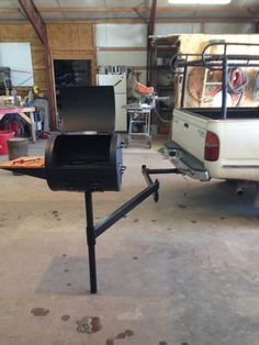 Our DIY Camper hitch grill!! Got 1 more to make !!