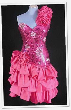 80s prom dress-----this is the one I want for a roller skating bday party