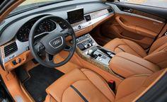 Audi A8 W12 Interior