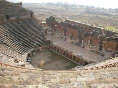 Roman theater in Ankara, Turkey