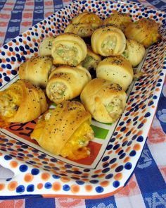 A-Day Snacks - Chicken Salad Crescents - Football Friday | Plain Chicken