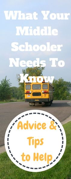 MIddle School Advice & Tips for Tweens and Parents. Back to school | back to school tweens | middle school | kids | kids and family | parenting tips | moms and sons | parentint advice | tips for school | tips for middle school | Tips for middle schoolers