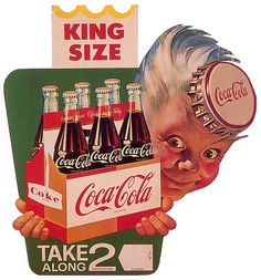 Coca-Cola king Size!