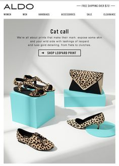 aldo email, shoes and matching bag