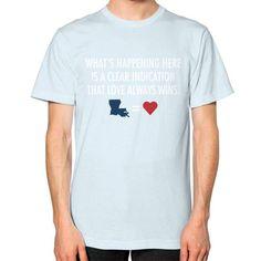 LAFloods2016 Unisex T-Shirt (on man)