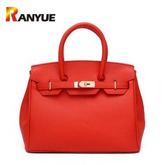 2017 Luxury Women Lock Bags Handbags Solid Women Famous Brands PU Leather Shoulder Bags Ladies Casual Tote Bag Bolsos Mujer Sac