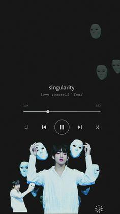 55 Super Ideas For Bts Wallpaper Taehyung Singularity Bts Wallpaper Lyrics, Music Wallpaper, Wallpaper Quotes, Iphone Wallpaper, Army Wallpaper, Bts Taehyung, Bts Bangtan Boy, Namjoon, Bts Playlist
