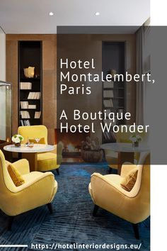 Hotel Montalembert is a French landmark in the historic Saint Germain des Pres neighbourhood that underwent a completed light renovation to celebrate its ninetieth anniversary. Paris Hotels, Saint Germain, A Boutique, The Neighbourhood, This Is Us, Anniversary, Europe, French, The Neighborhood