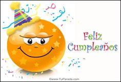 Imágenes divertidas de Felíz Cumpleaños con emoticones | Frases Hoy