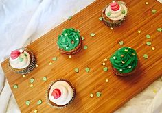Cooking Bakery | Bratapfel-Cupcakes mit Zimttopping