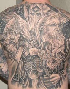 I'm not of viking heritage but this rocks! Great linework and shading and the design... Wow!!