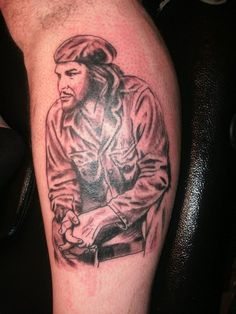 che guevara tattoo by on DeviantArt Che Guevara Tattoo, Large Tattoos, Chest Tattoo, Beautiful Tattoos, Tattoo Designs, Hero, Projects, Ideas, Tatoo