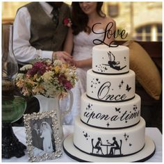 Love Cake Topper. The perfect cake topper for your Valentine, Engagement, Wedding or Anniversary cake.
