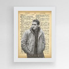 Paul Newman Poster Paul Newman Print Paul Newman by photoplasticon