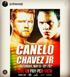 """FOLLOW AND SHARE CANELO VS. CHAVEZ JR. IS OFFICIAL Los Angeles, CA (January 13th, 2016)– According to Oscar De La Hoya's official twitter account, Julio Cesar Chavez Jr. has signed the deal for the all-Mexican mega-fight with Saul """"Canelo"""" Alvarez on May 6th, in most likely Las Vegas. According to Chavez Jr. – he agreed …"""