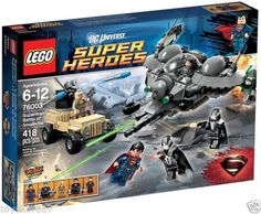 LEGO Super Heroes 76003 Superman: Battle of Smallville NEW Factory Sealed