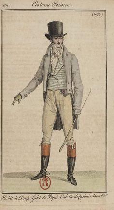 Regency Dress, Regency Era, Mode Masculine, Napoleon, Jean Délavé, 19th Century Fashion, Empire Style, Jane Austen, Historical Clothing