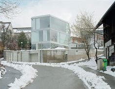 Christian Kerez, Walter Mair · House with One Wall. Zurich, Switzerland