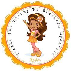 Strawberry Shortcake's Orange Blossom by KiddieCreations1 on Etsy, $5.00