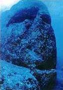 Sunken pyramid off the island of Yonaguni near Okinawa in the Devil's Sea / Dragons Triangle!               A structure thought to be the  ...