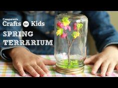 DIY Spring Terrarium | Crafts for Kids | PBS Parents | PBS