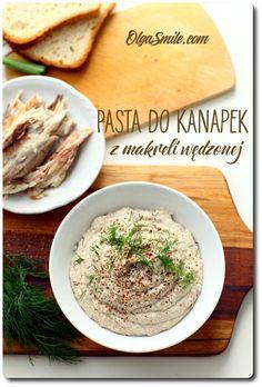 Fish paste Polish Recipes, Polish Food, Fish And Seafood, Palak Paneer, Preserves, Tacos, Pasta, Cooking, Breakfast