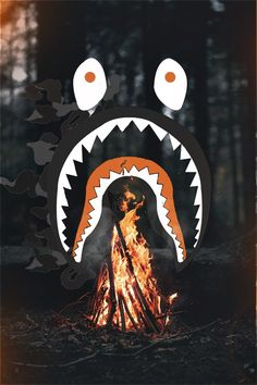 "BAPE ""WildFire"" Wallpaper. 寤"