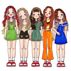 Red velvet fan art