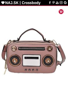 Kabelka crossbody L-198 PINK Cross Body, Kate Spade, Pink, Bags, Accessories, Shoes, Fashion, Handbags, Moda