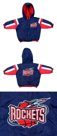 3e629a640697 Outerwear 147324  Nba Basketball Boys Infants Toddlers Houston Rockets  Vintage Bomber Jacket