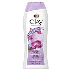 olay fresh outlast body wash soothing orchid & black current. Walmart $4.97