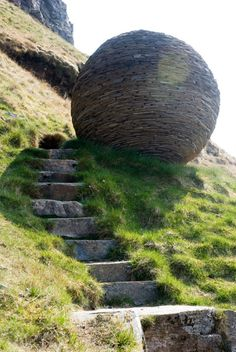 Scotland ~ Knockan Crag Steps on the Ross-Shire and Sutherland border area.