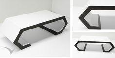 """""""MILAN"""" Mesa de Diseño Neo-modernista, sus formas dinámicas generan una sensación de movimiento y vacío. Fotografía:Faian Virviescas https://instagram.com/vircorpdesign/"""