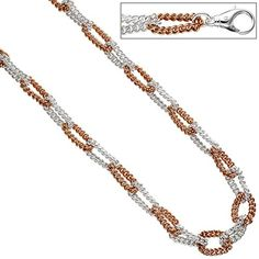Dreambase Damen-Halskette teilrotvergoldet Silber 46 cm 8 mm Karabinerverschluss Dreambase http://www.amazon.de/dp/B0147RWQE4/?m=A37R2BYHN7XPNV