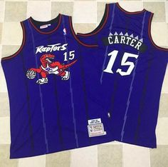 21 Toronto Raptors  15 Vince Carter Mitchell And Ness Purple Throwback  Stitched Tracy Mcgrady de0e483b9