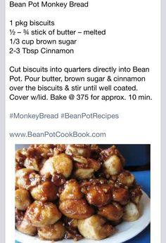 Monkey Bread (Using Bean Pot from Celebrating Home)