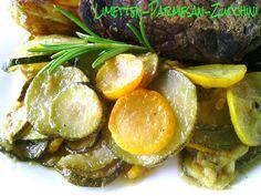 pamelopee: Rezept: Limetten-Parmesan-Zucchini